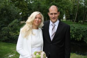 Thomas mit Ehefrau Janina