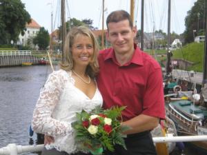 Jörg mit seiner Frau Bianca